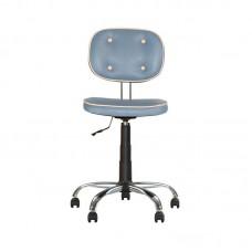 Кресло для лаборанта голубое